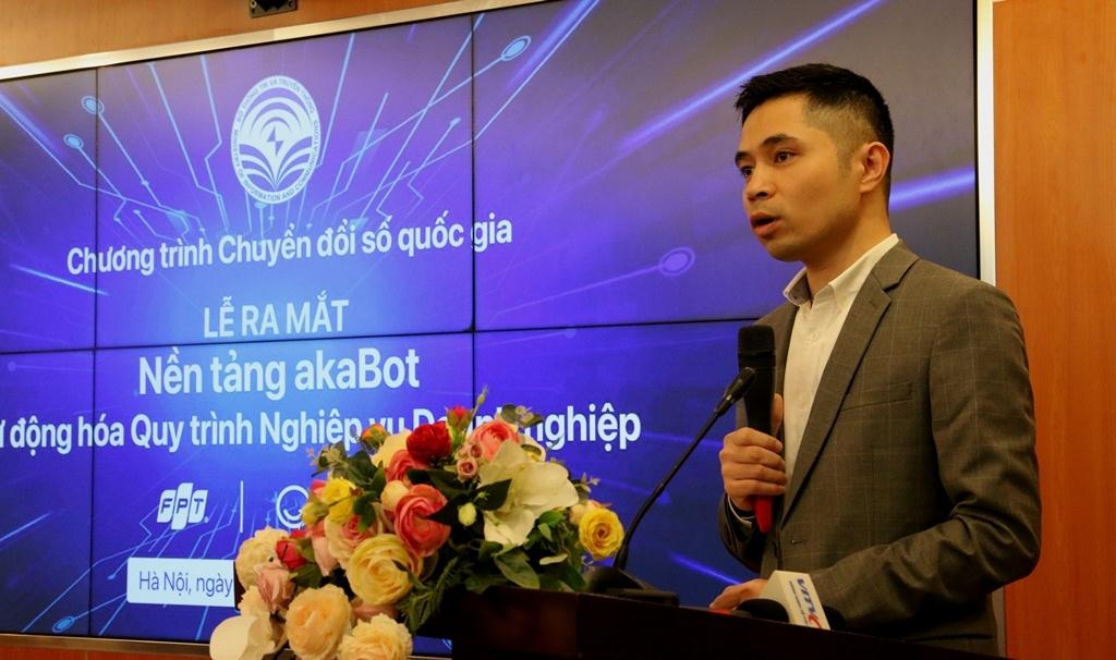 Ra mắt nền tảng tự động hóa quy trình nghiệp vụ doanh nghiệp akaBot