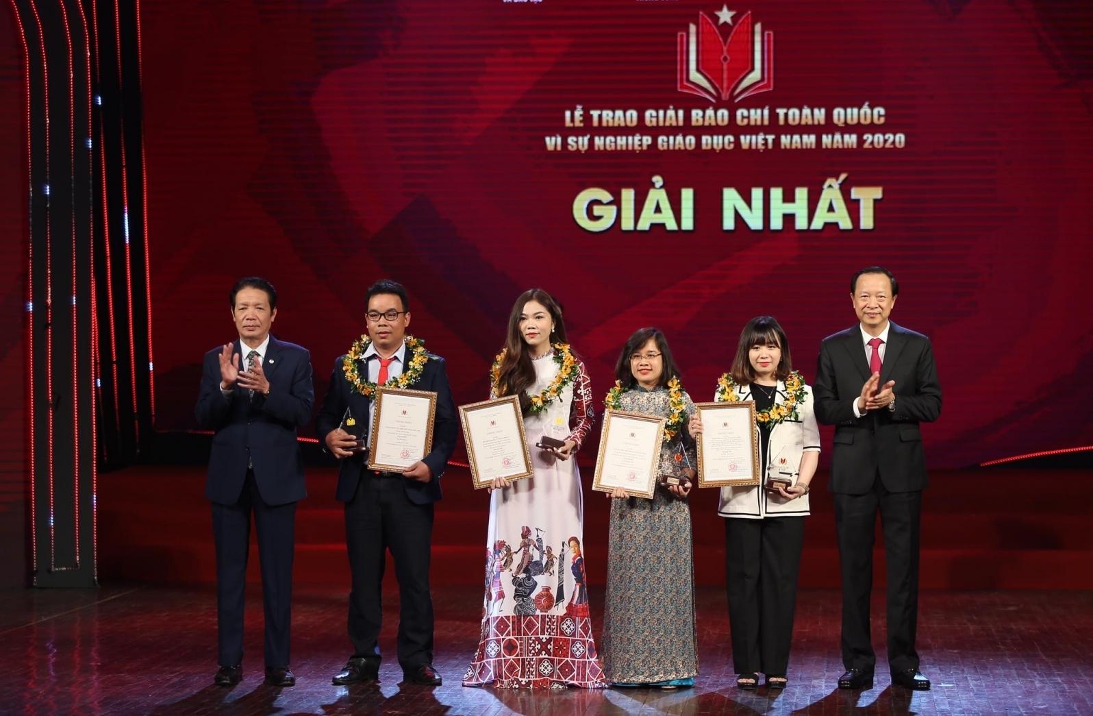 """50 tác phẩm nhận giải báo chí """"Vì sự nghiệp giáo dục Việt Nam"""