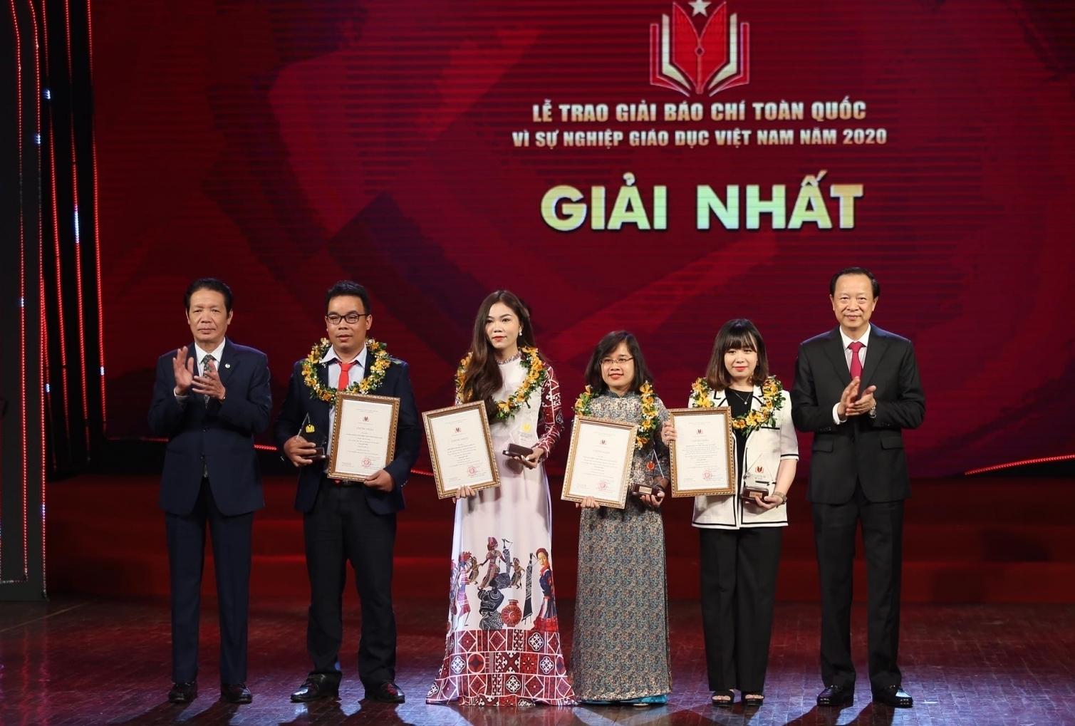 """50 tác phẩm nhận giải báo chí """"Vì sự nghiệp giáo dục Việt Nam"""" năm 2020"""