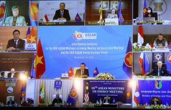 Tuyên bố chung Hội nghị Bộ trưởng Năng lượng ASEAN lần thứ 38