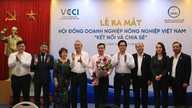 """Ra mắt Hội đồng Doanh nghiệp nông nghiệp Việt Nam """"Kết nối và chia sẻ"""""""