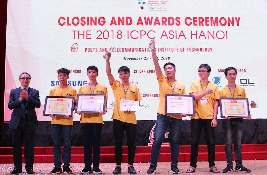 sinh vien viet nam dat huy chuong bac thi lap trinh icpc asia hanoi 2018