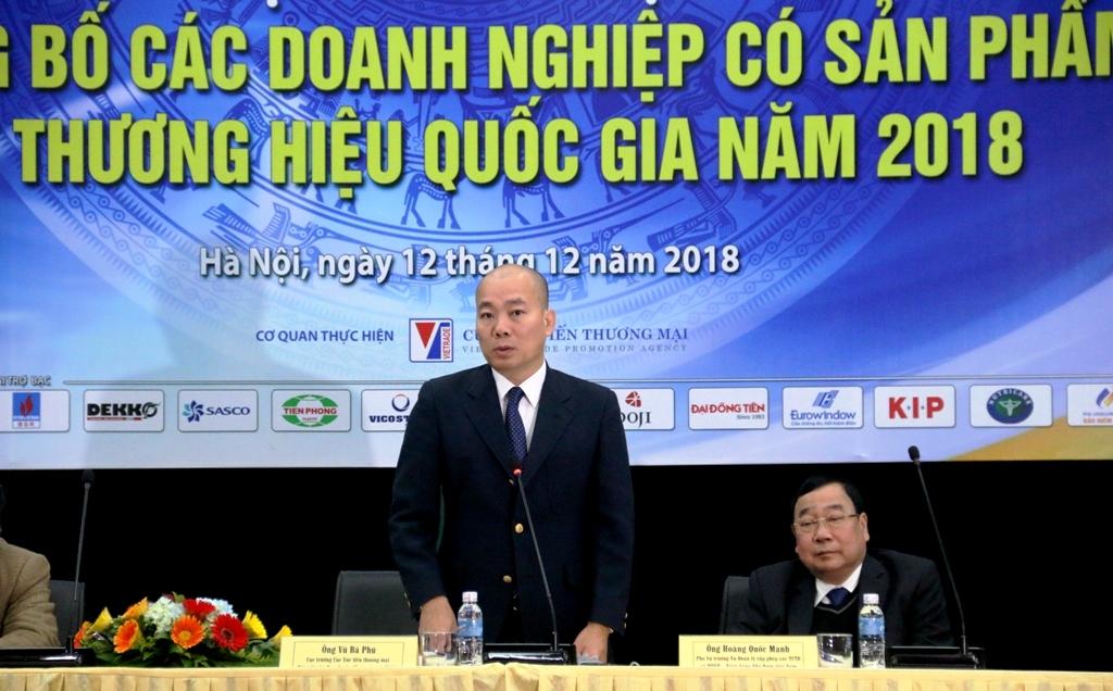 pvn co 5 doanh nghiep dat thuong hieu quoc gia nam 2018