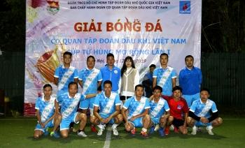 Khai mạc Giải bóng đá Cơ quan Tập đoàn Cúp tứ hùng  mở rộng lần I