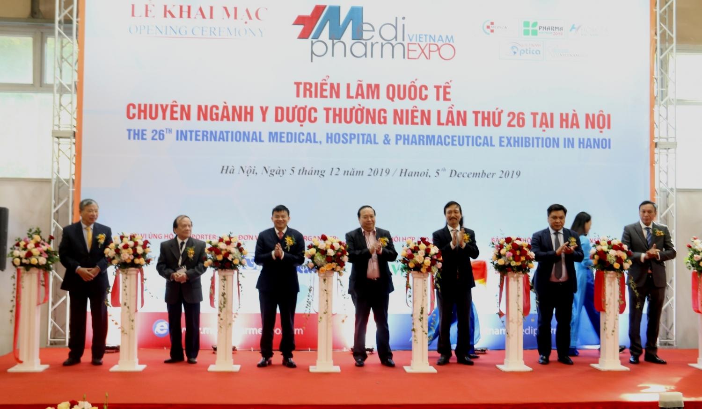 vietnam medipharm expo 2019 noi hoi tu cong nghe tien tien cua nganh y duoc