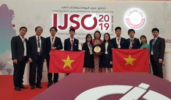 viet nam gianh 6 huy chuong olympic khoa hoc tre quoc te 2019