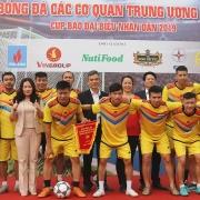 doi bong da pvn tham gia cup bao dai bieu nhan dan nam 2019