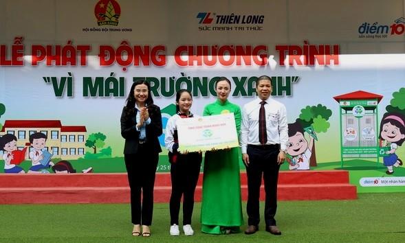 phat dong chuong trinh vi mai truong xanh 2019