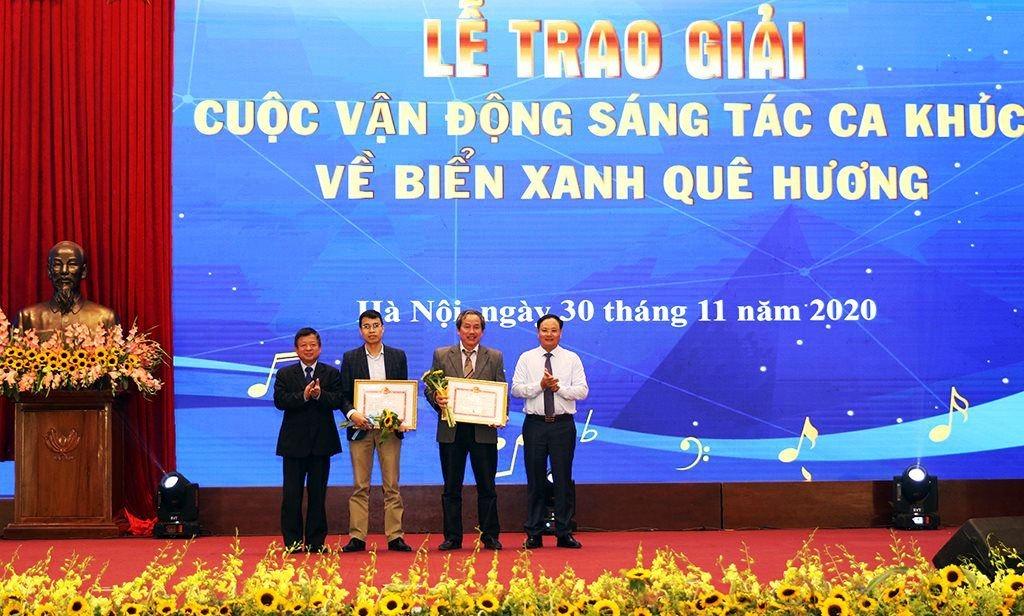 Trao giải Cuộc thi sáng tác ca khúc về biển xanh quê hương cho 12 tác phẩm