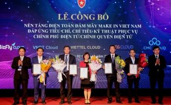 """Công bố 5 nền tảng điện toán đám mây """"Make in Việt Nam"""""""