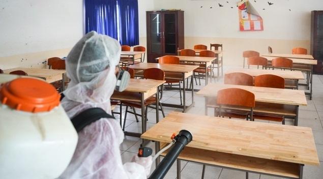 Yêu cầu tăng cường phòng, chống dịch Covid-19 trong trường học