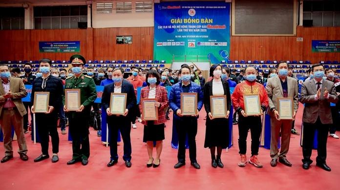 Hơn 300 vận động viên bóng bàn tranh Cúp Báo Hànộimới lần thứ VIII