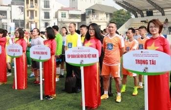 Đội bóng đá Petrovietnam tham gia Cup Báo Đại biểu Nhân dân năm 2020