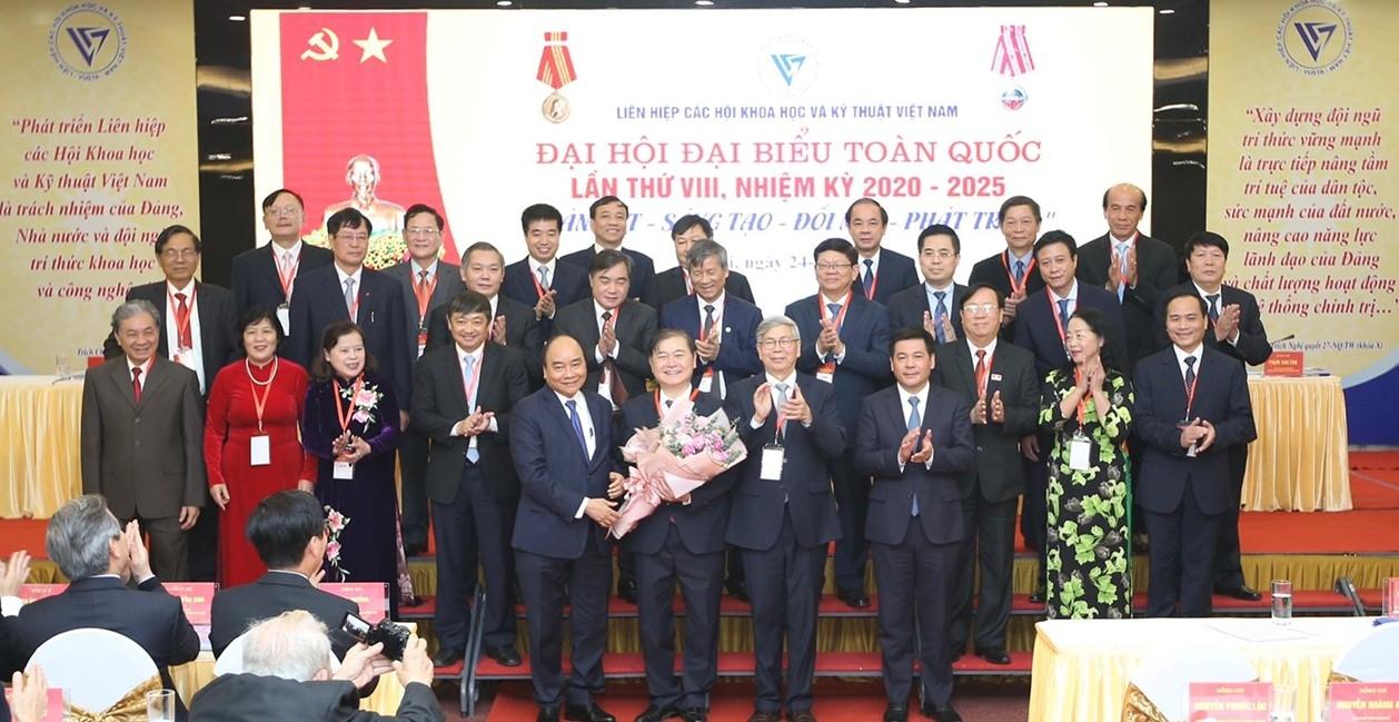 Đoàn đại biểu VPA tham dự Đại hội đại biểu toàn quốc Liên hiệp các Hội Khoa học Kỹ thuật Việt Nam lần thứ VIII, nhiệm kỳ 2020-2025