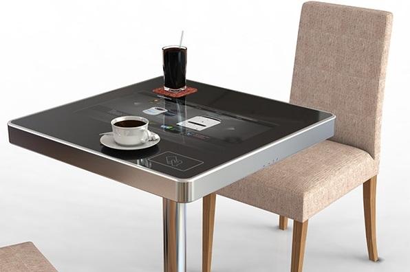 Bàn cafe tích hợp màn hình cảm ứng đa chạm độc đáo