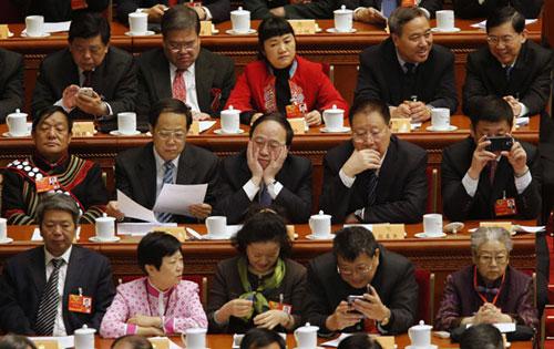 Nghị trường Trung Quốc: Siêu giàu, không facebook và game