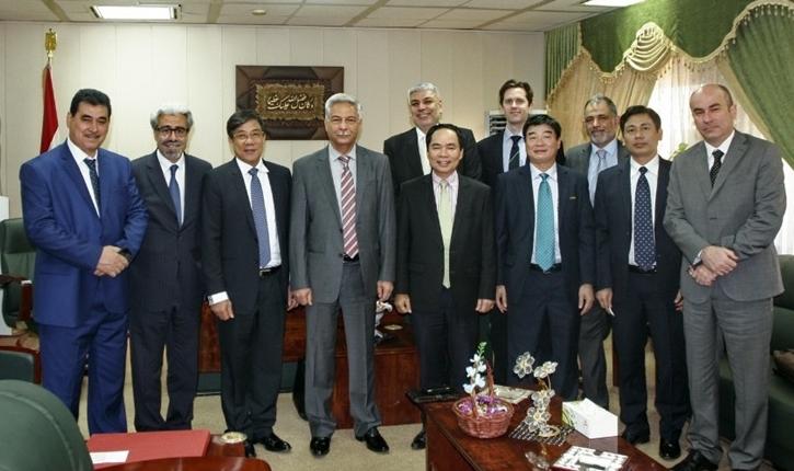 Lãnh đạo Tập đoàn Dầu khí Việt Nam làm việc tại Iraq