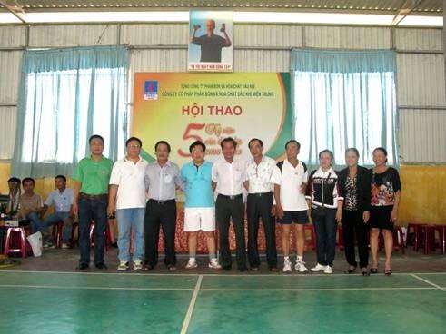PVFCCo Central: Khai mạc Hội thao chào mừng kỷ niệm 5 năm thành lập Công ty