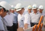 Phó Thủ tướng kiểm tra dự án đường cao tốc Hà Nội - Hải Phòng