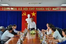 Chủ tịch Tổng Liên đoàn Lao động Việt Nam làm việc tại Công ty BSR