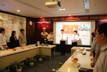 PVEP tổ chức lễ kết nạp Đảng viên mới