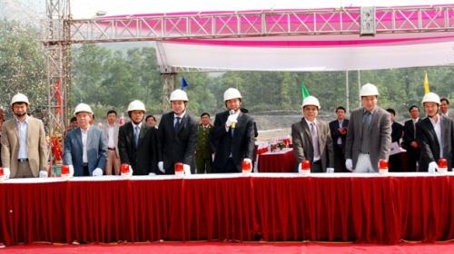 Than Mạo Khê khởi công dự án khai thác dưới mức -150