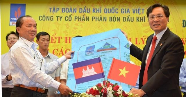 Đạm Cà Mau chính thức có mặt tại thị trường Campuchia