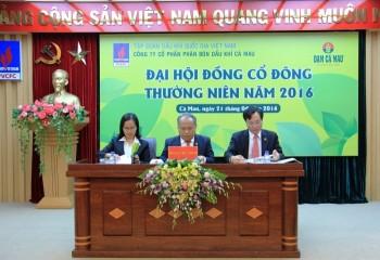 PVCFC chi 423,5 tỷ đồng chia cổ tức năm 2015