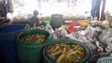 TP HCM: Lại phát hiện măng chứa chất nhuộm màu
