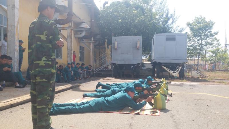Vietsovpetro tổ chức huấn luyện tự vệ năm 2021