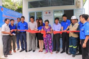 Đoàn Thanh niên Công ty Mẹ trao nhà tình nghĩa tại tỉnh Hậu Giang