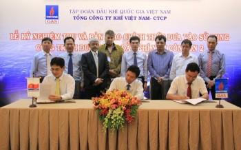Nghiệm thu và bàn giao Dự án Đường ống dẫn khí Nam Côn Sơn 2 - Giai đoạn 1