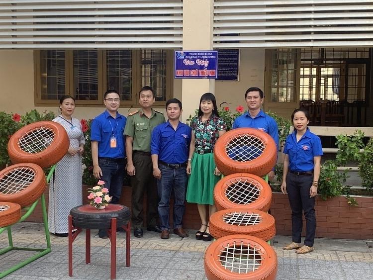 PTSC M&C trao tặng Công trình thanh niên cho 6 trường tiểu học trên địa bàn