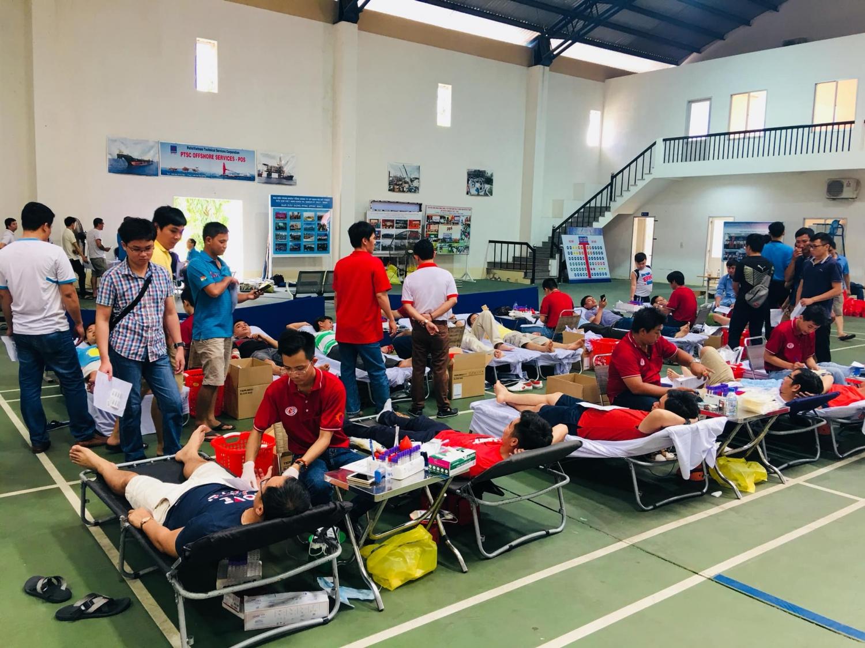 Tuổi trẻ PTSC M&C: Chặng đường 10 năm với phong trào hiến máu tình nguyện