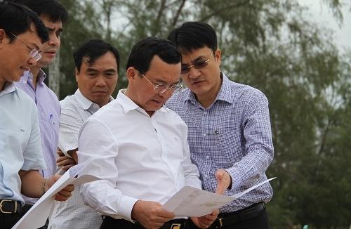 Lãnh đạo  PVN khảo sát thực địa cho 2 dự án lớn tại Phú Quốc