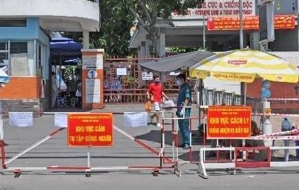 TP HCM: UBND quận Tân Phú tạm ngưng giao dịch trực tiếp do ca nghi mắc Covid-19