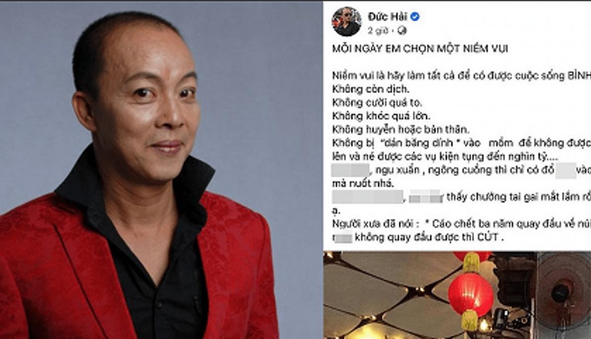 """NSƯT Đức Hải bị miễn nhiệm chức Phó hiệu trưởng sau nghi vấn """"vạ miệng"""" trên facebook"""