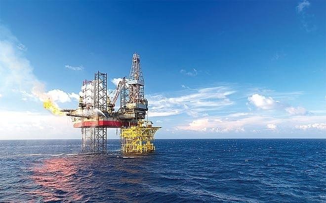 Giàn khoan biển tự nâng của PV Drilling.