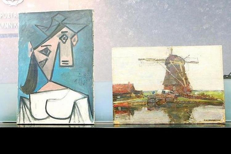 Hai kiệt tác của Pablo Picasso và Piet Mondrian