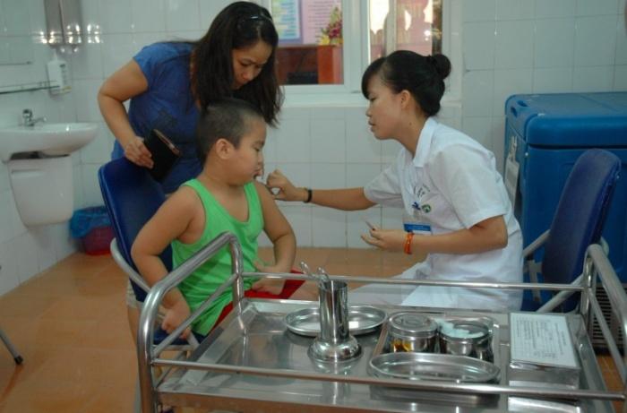10.000 liều vắcxin khẩn cấp phòng chống dịch bạch hầu