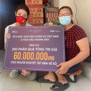 Hoa hậu Khánh Vân chia sẻ khó khăn với người lao động nghèo khuyết tật