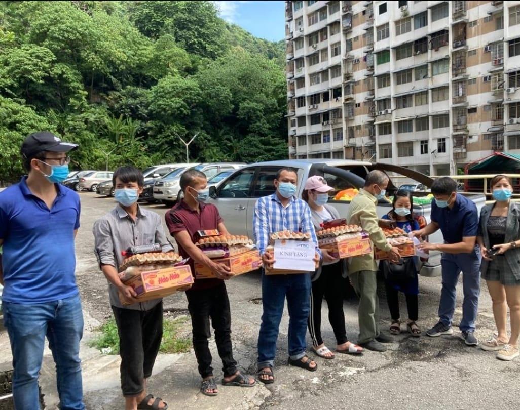 PTSC hỗ trợ người lao động Việt Nam tại Malaysia