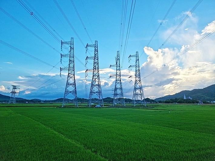 Toàn bộ dự án đường dây 500 kV đấu nối NMNĐ Nghi Sơn 2 vào Hệ thống điện Quốc gia đã hoàn thành.