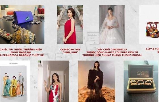Đấu giá thời trang thu về gần 2,7 tỷ đồng góp vào quỹ chống dịch Covid-19