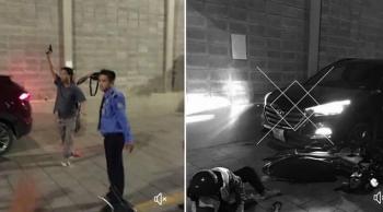 TP HCM: Náo loạn tại chung cư Gold View, 2 người bị ô tô tông trọng thương