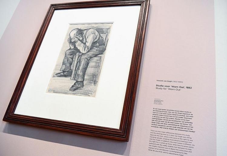 Lộ diện tác phẩm chưa từng được biết đến của danh họa Van Gogh