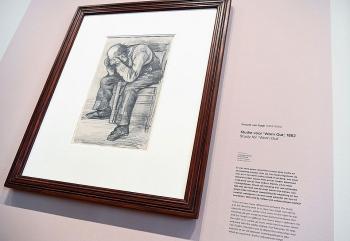 Tác phẩm chưa từng được biết đến của danh họa Van Gogh