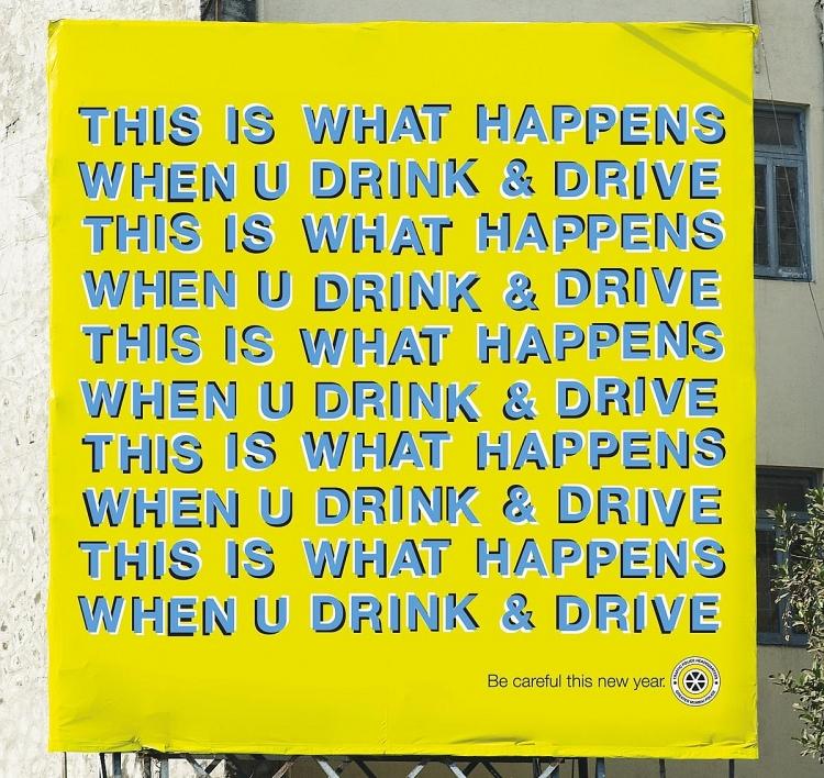 nhung mau quang cao an tuong chong lai xe khi uong ruou bia