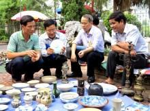 Trưng bày chuyên đề 'Cổ vật Hưng Yên' lần 6 - năm 2015