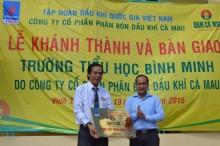 PVCFC khánh thành trường tiểu học Bình Minh, Kiên Giang